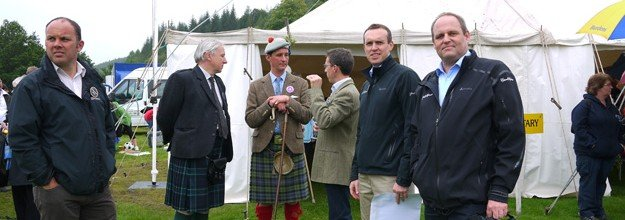 GLM proud sponsor of Inveraray Highland Games