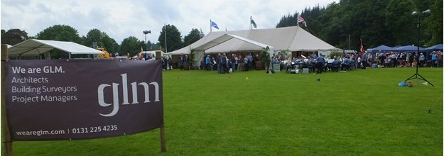 GLM Proud Sponsors of 2013 Inveraray Highland Games