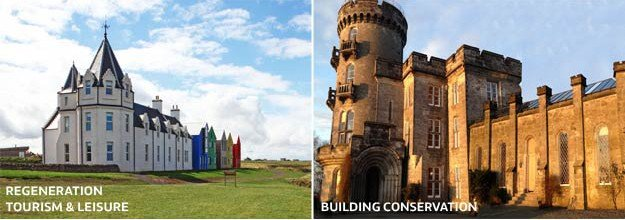 John O'Groats and A-Listed Castle Shortlisted for 2014 RICS Awards