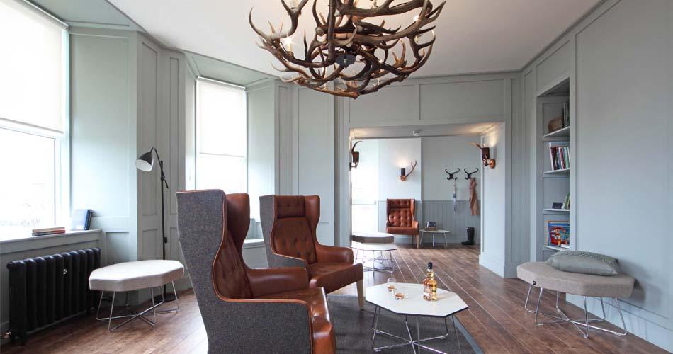 The Inn sitting room