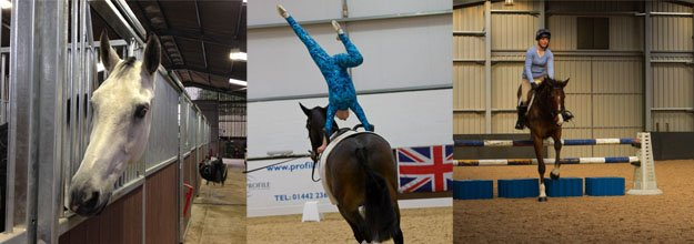 GLM deliver state of the art riding school for Olympic show jumper