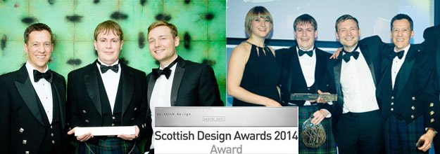 GLM Wins Regeneration Award at 2014 Scottish Design Awards