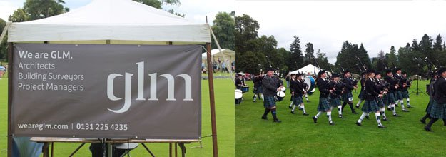 GLM Sponsor the 2014 Inveraray Highland Games