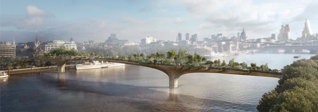 London's Garden Bridge: Sculpture or Functioning Form?