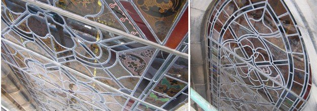 A Closer Look at Stained Glass Conservation