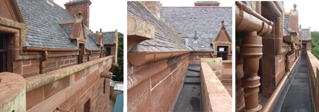 Roof & Turrets After