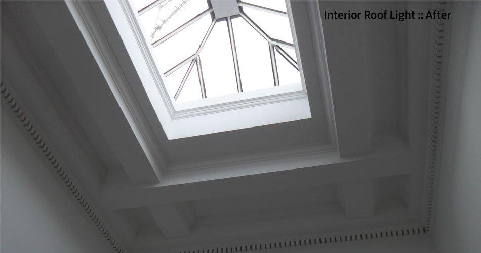 Roof Light Interior AFter