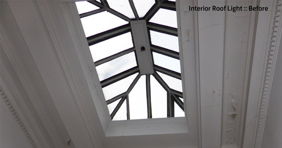 Roof light Interior Before