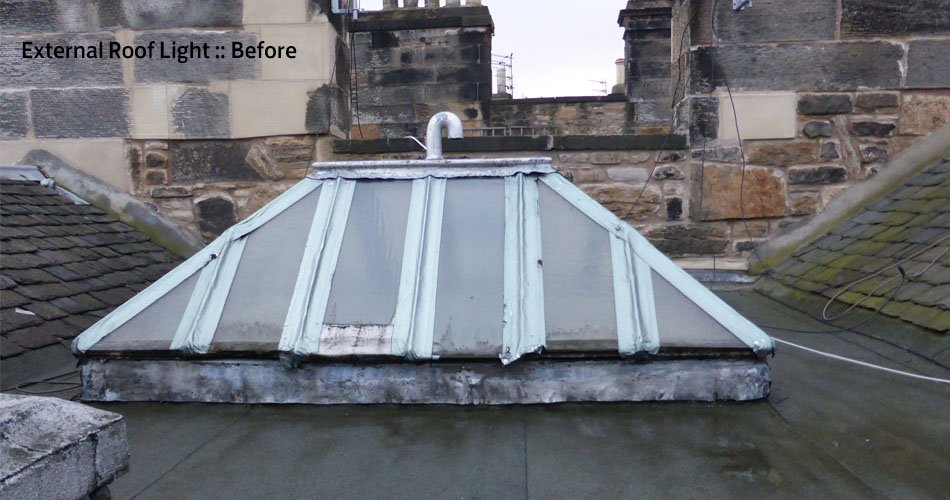 Rooflight Before