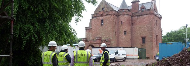 GLM Team Day Out: An Educational Visit to Nunraw Tower Site