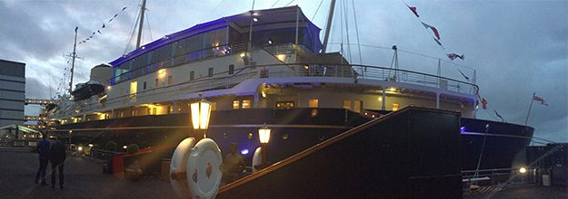 GLM boards the Royal Yacht for Thrive's Summer Cocktail Party 2016