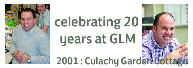 CELEBRATING 20 YEARS AT GLM : 2001 – Culachy Garden Cottage
