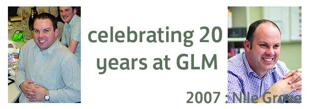 Celebrating 20 years at GLM : 2007 – Nile Grove