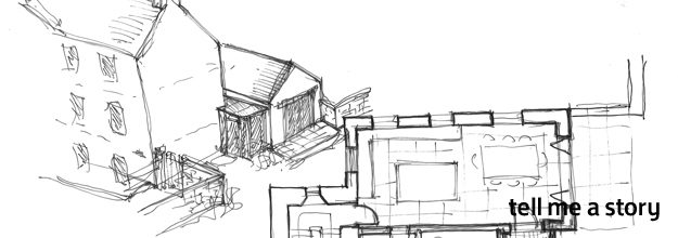 Tell me a story and I'll design you a house