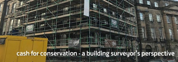 Cash for Conservation – a building surveyor's perspective