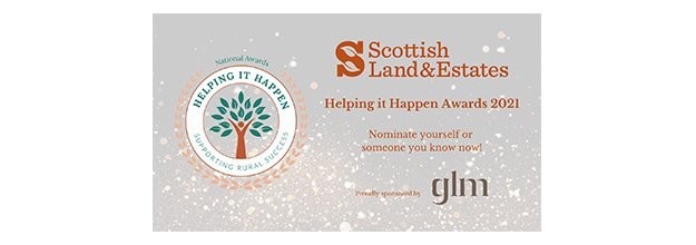 GLM are delighted to continue our support for Rural Scotland as we Headline Sponsor the Helping it Happen Awards 2021